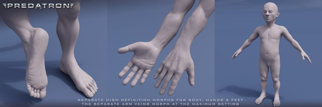 Benjamin - Predatron 3D Models