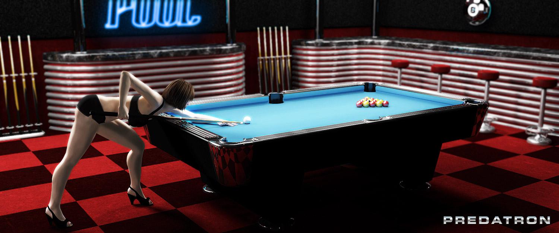 Hot Pool - Predatron 3D Models