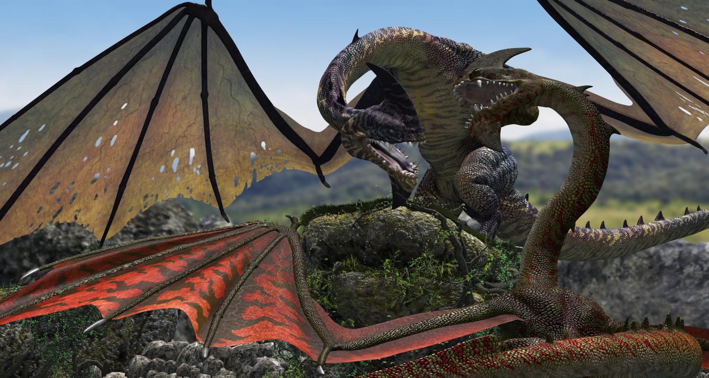 Moorland Dragons - Predatron 3D Models