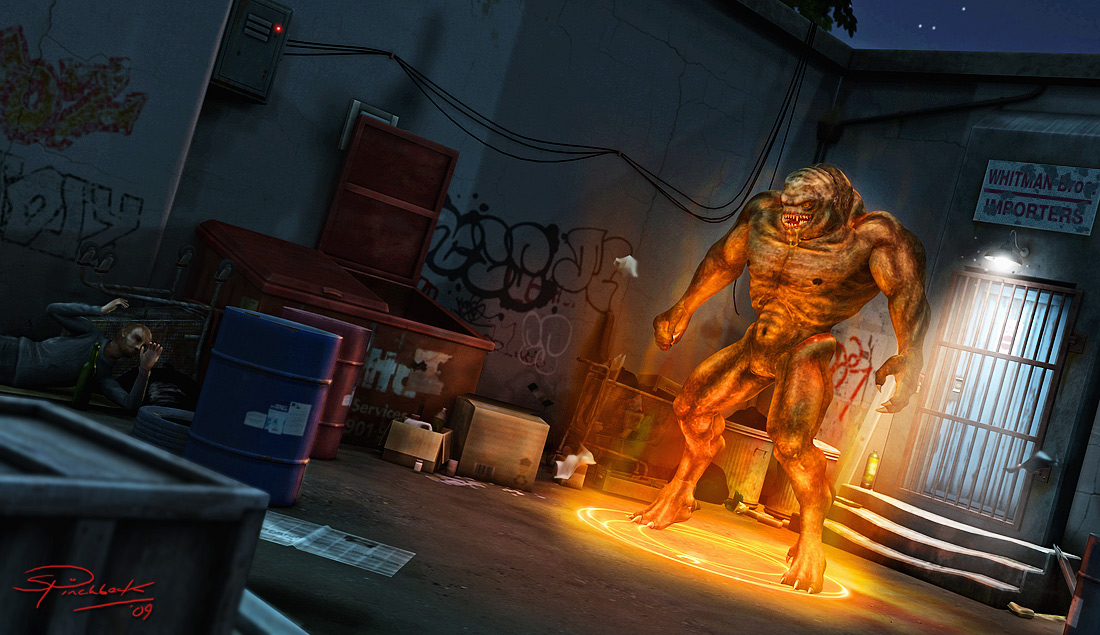 Rude Awakening - Predatron 3D Models