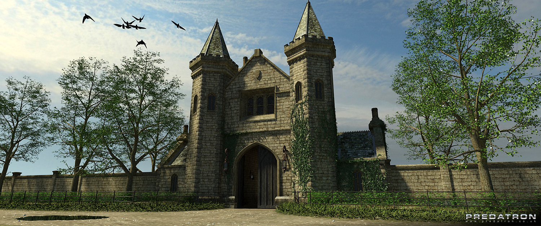 THe Gatehouse - Predatron 3D Models