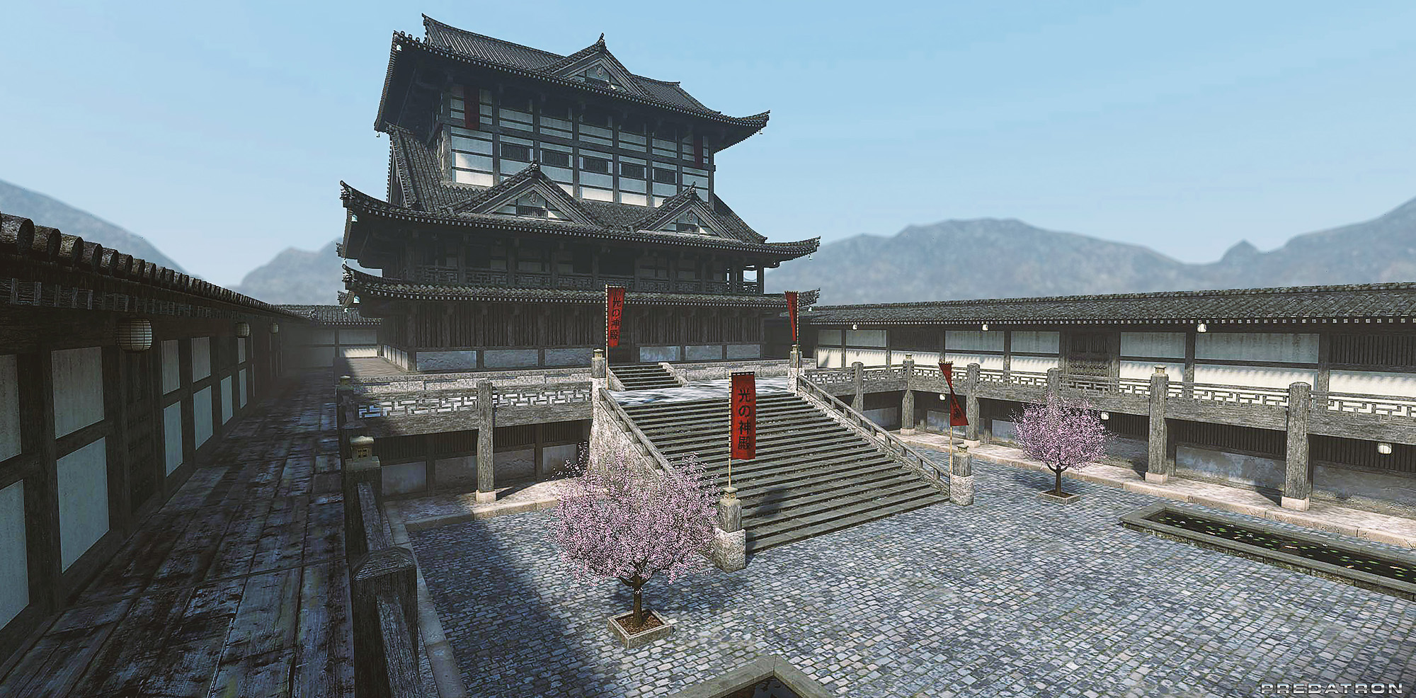 Japanese Temple - Predatron 3D Models