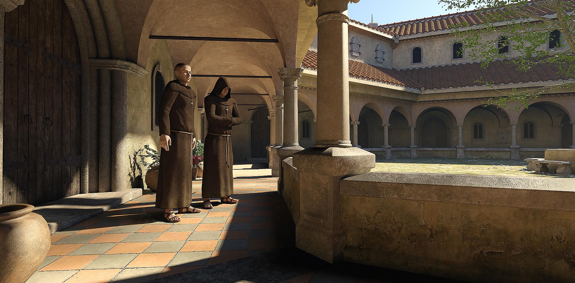 Monastery - Predatron 3D Models