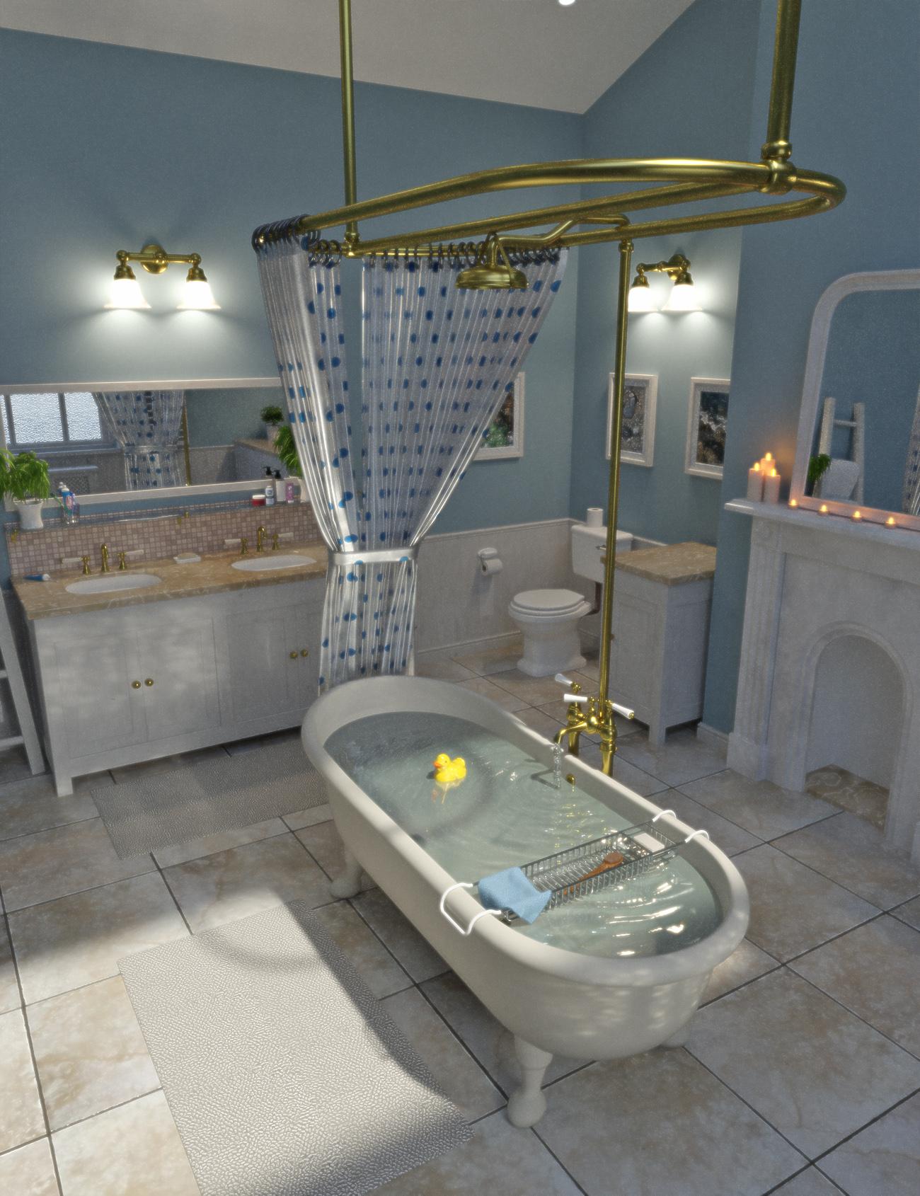 Bathroom - Predatron 3D Models