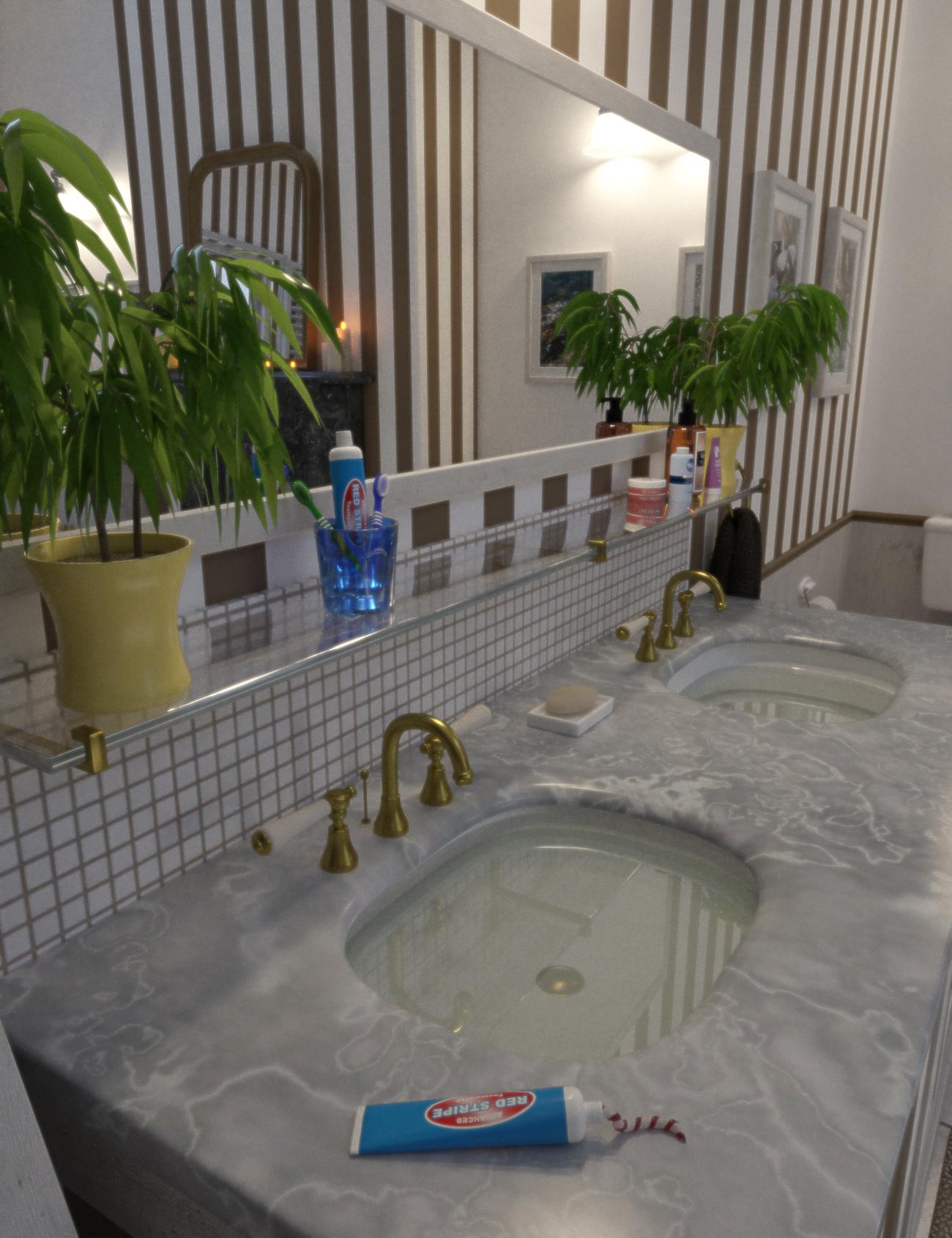 Bathroom Detail - Predatron 3D Models