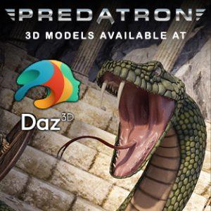 Predatron 3D Models Available at DAZ3D