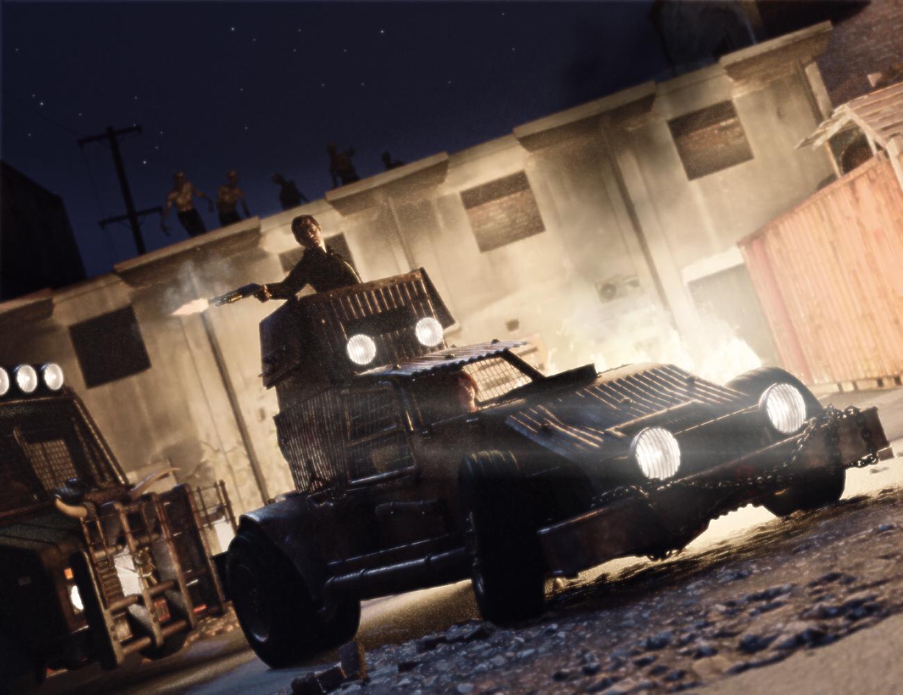 Zombie Buggy - Predatron 3D Models