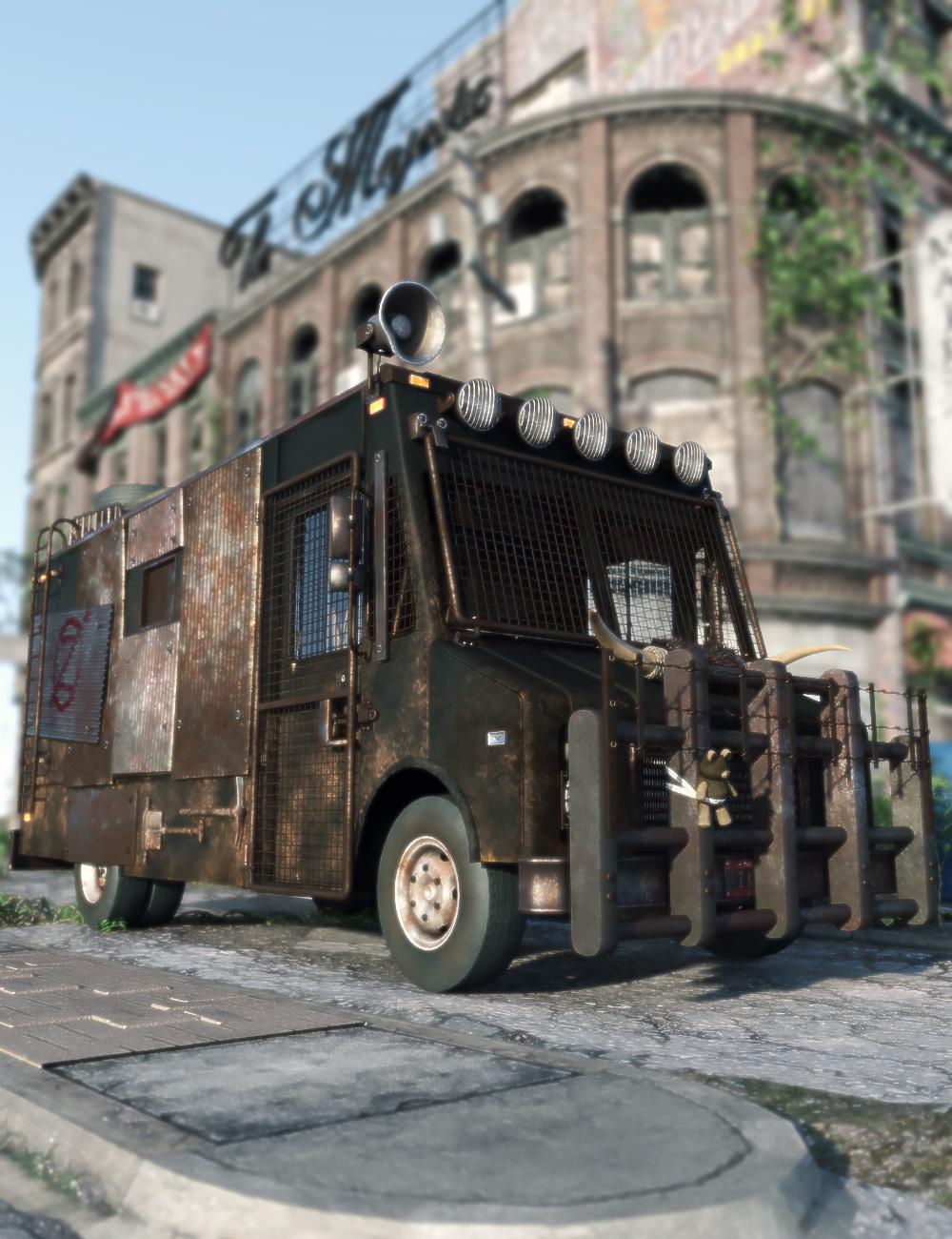 Zombie Hunter - Predatron 3D Models