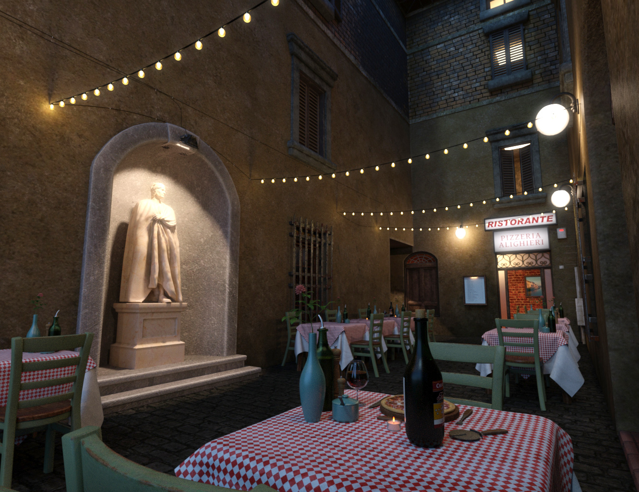 Pizzeria - Predatron 3D Models