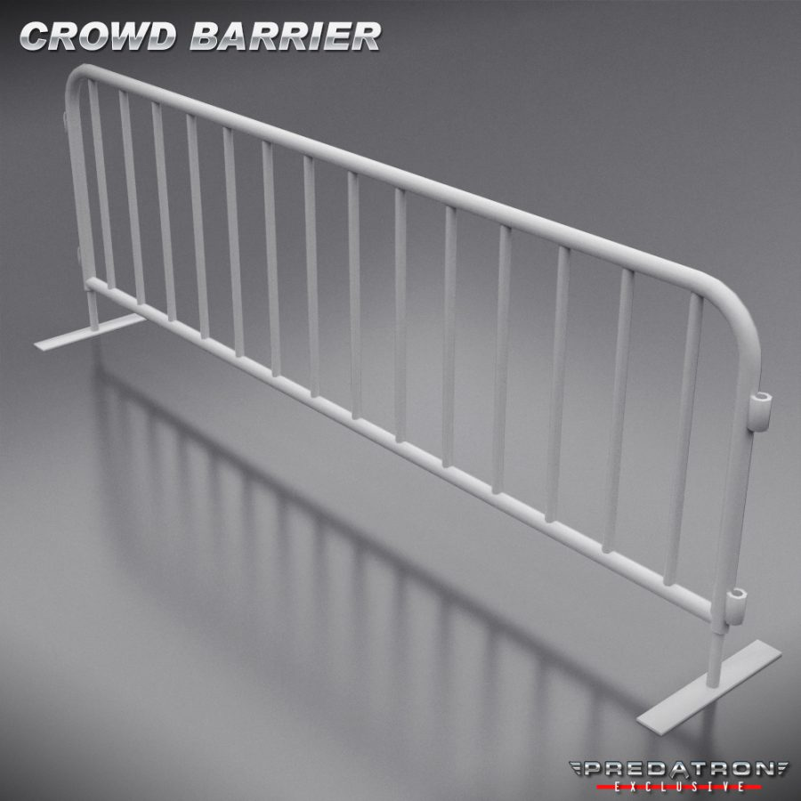 Crowd Barrier - Predatron 3D Models and Resources