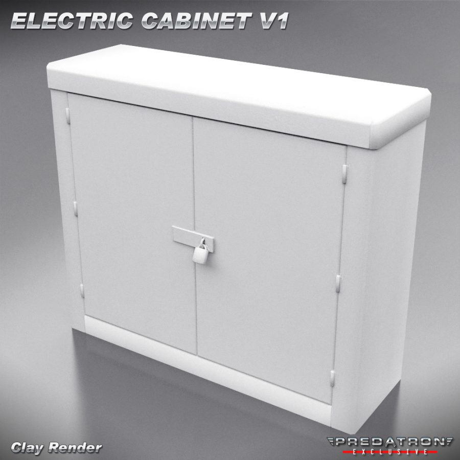 Electric Cabinet V1 - Predatron 3D Models and Resources