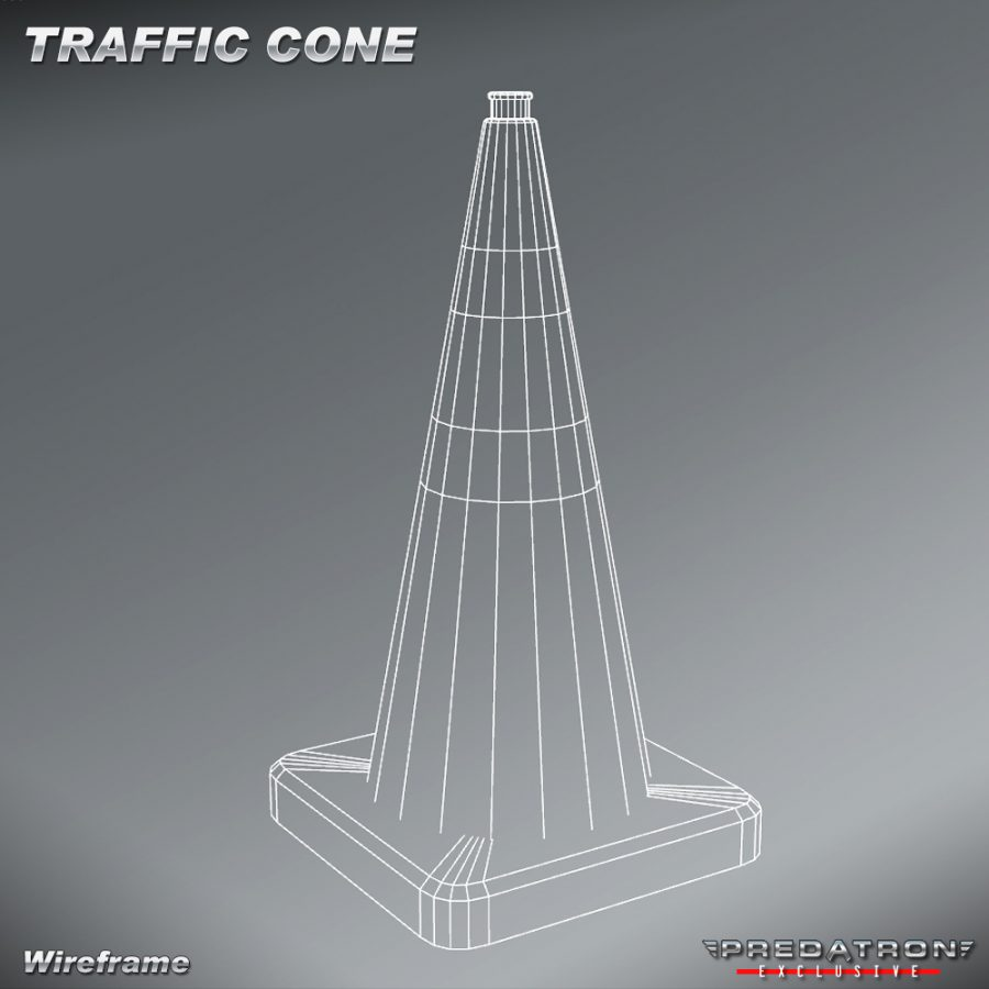 Traffic Cone - Predatron 3D Models and Resources