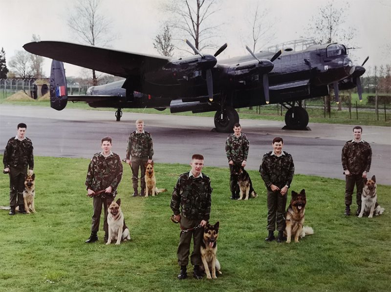 RAF Coningsby Dog Section