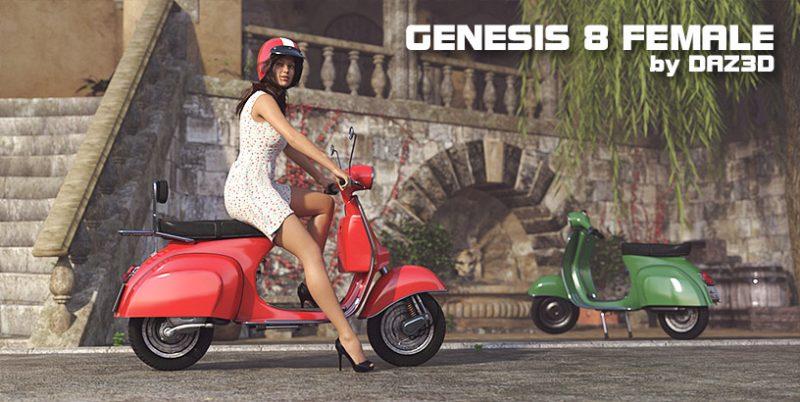 Genesis 8 Female by DAZ3D