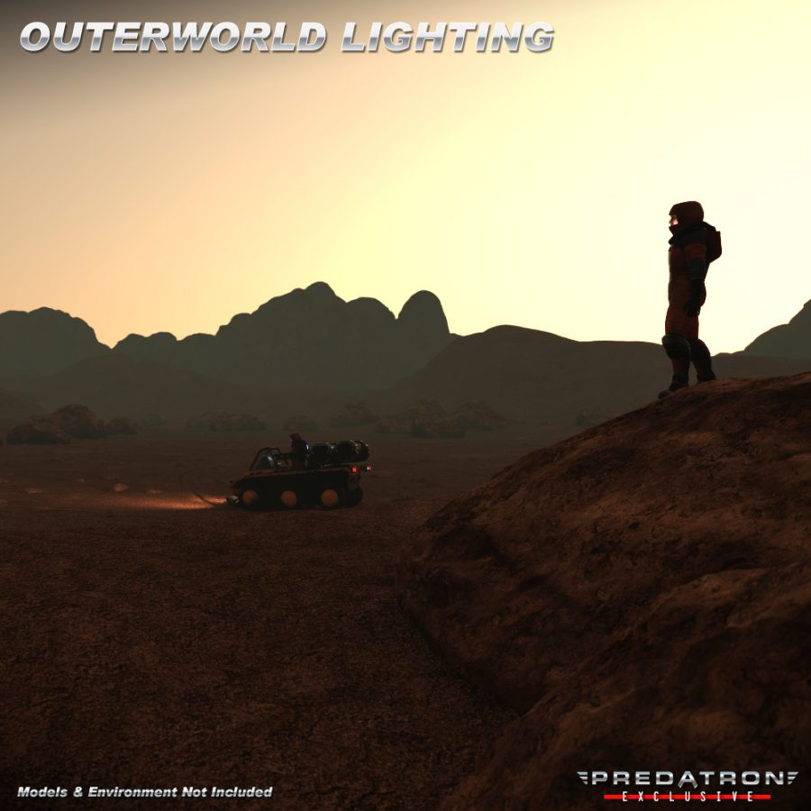 Outerworld Lighting Iray